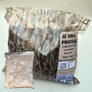Recharge Ecopiège ® Ecorce (sac+mastic)