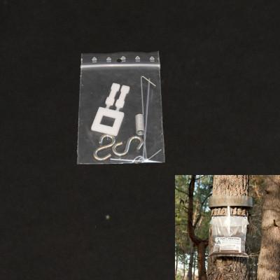 Sachet d'accessoires pour collier Écopiège® Transparent