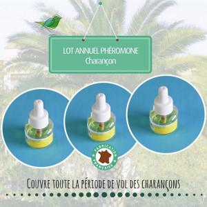 Lot annuel phéromone Charançon X3
