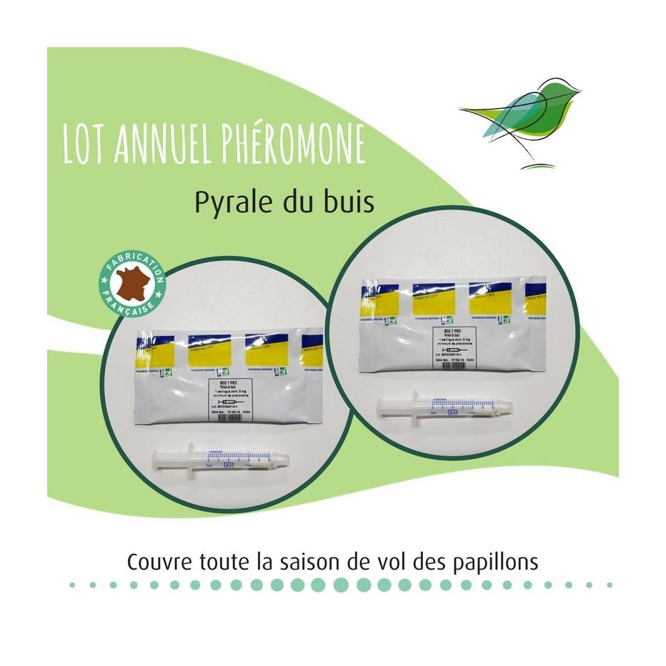 Lot annuel Phéromone Pyrale du Buis