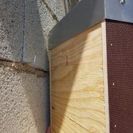 Gîte Chauve souris sur façade